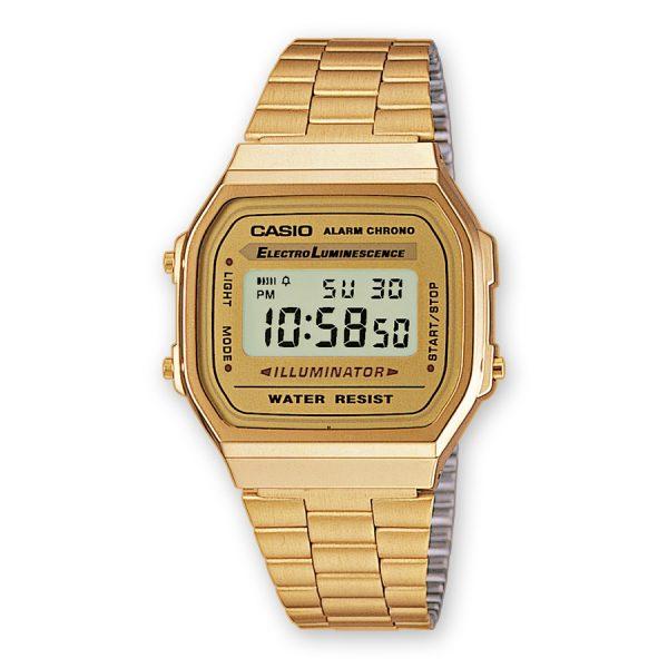 68fd78140a27 Reloj Casio A168WG-9EF – Clepsidra